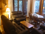 deluxe cottage 8 living room